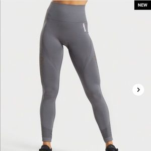 Gymshark grey energy seamless leggings